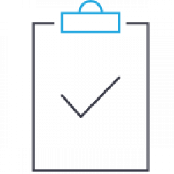 Clipboard with checkbox